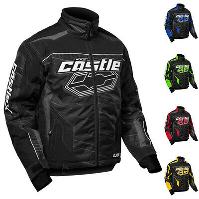 Castle X Racewear Blade G2 Mens Snowmobile Winter Snow Coat Jacket