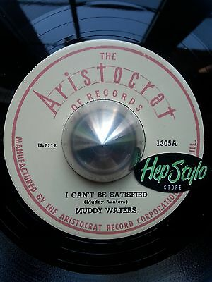Muddy Waters 45 Re - I Can't Be Satisfied/you're Gonna Miss Me-Monster Blues Bop