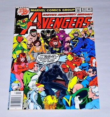 Avengers 181 HIGH GRADE 1st Scott Lang Ant-Man Black Panther NM