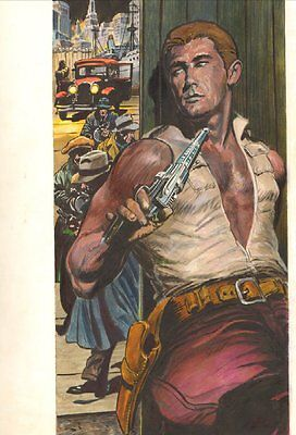 Doc Savage: The Man of Bronze #2 Painted Cover - 1992 art by Doug Wildey