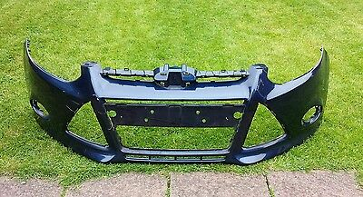 Ford Focus Mk5 2011-13 Genuine Oem Front Bumper Blue Metallic