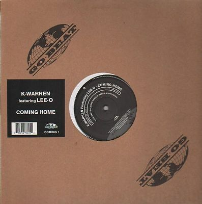 K-Warren Featuring Lee-O Coming Home Vinyl Single 12inch NEAR MINT Go! Beat
