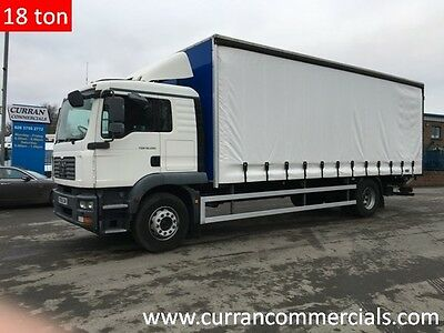09 59 Man TGM 18.280 18 Ton 26ft Curtainsider With Barn Doors  And Tail Lift