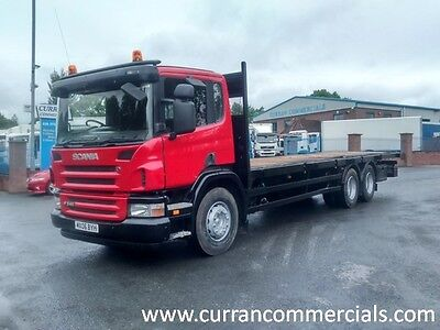 06 Scania 124 p340 6X4 26 Ton 30ft Flat Double Drive Tipper Chassis