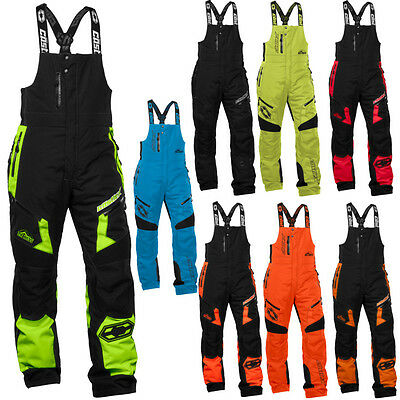 Castle X Racewear Tundra Mens Snowmobile Winter Snow Pant Bib