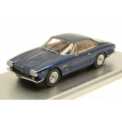 Kess Model Ks43014071 Maserati 5000 Gt Bertone 1961 Metallic Blue Lim.250 1:43