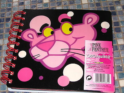 Pink Panther Organiser Birthdays Addresses Notes Weekly Brand New Very Rare