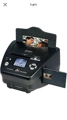 Sd Film Ion Photo Slide And Scanner Pics 2 Audio Card Pics2sd Black New 35mm