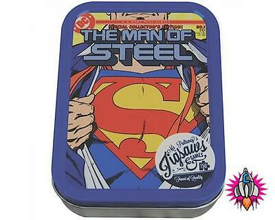 Superman Man Of Steel 150 Piece Jigsaw Puzzle In A Collectors Tin