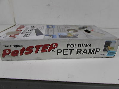 PetSTEP Folding Pet Ramp Gray