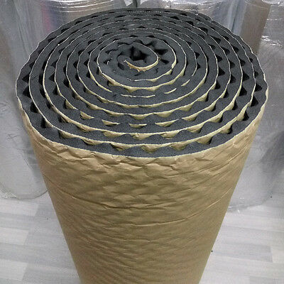 KTV Room Sound Absorber 20mm Acoustic Foam Car Deadening Proofing 50 X 50cm