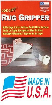 NEW Lok-Lift Rug Gripper Mat Tape Non Anti Slip Resistant Traction Pad MADE USA