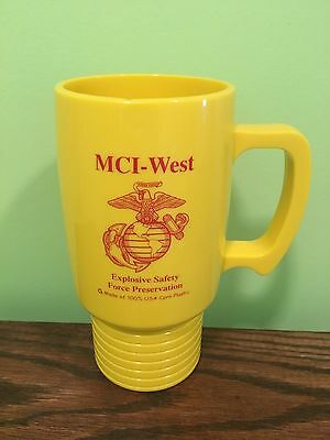 USMC Mug Coffee Cup MCI West Explosive Safety Force Preservation Marine Corps