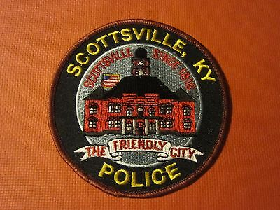 Collectible Kentucky Police Patch Scottsville New