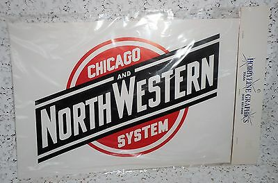 CHICAGO AND NORTHWESTERN SYSTEM Railroad Sign