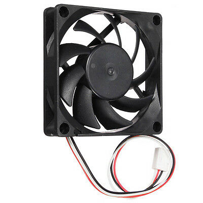 70mm 3Pins 12V PC CPU Host Chassis Computer Case IDE Fan Cooling Cooler Silent~
