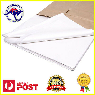 White Tissue Paper Ream 500 Sheets 660mmx400mm 18gsm Gift Wrap Premium Qlty