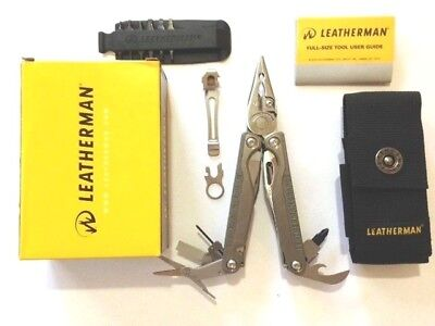 Leatherman Charge TTI + Plus 2018 Multi Tool Multitool Knife +Nylon Sheath
