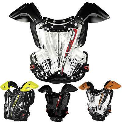 EVS Protective Gear Motocross Vex Adult Bike Riding Chest Protector