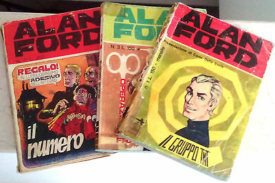 62 Alan Ford originali (da n.1 a n.70)