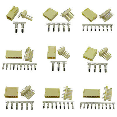 10PCS 2P 3P 4P 5P 6P~10P KF2510 2.54mm Pin Header+Terminal+Housing Connector AU