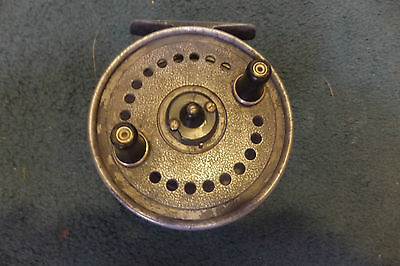 Vintage J.w.young Seldex  Centre Pin Reel