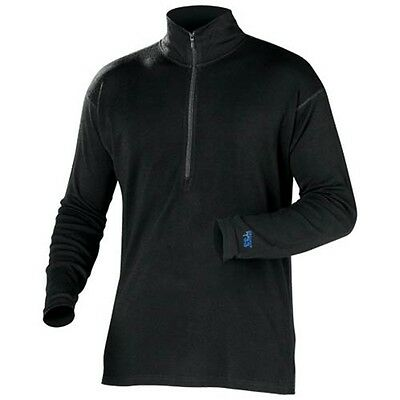 Minus 33 Casual Snowmobile Snow Warm Winter Mid-Weight 1/4 Zip Top