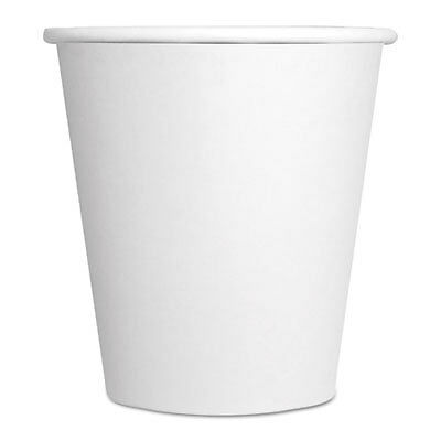 Paper Hot Cups, 10 oz, White, 1000/Carton 10SQHOTCUPWH