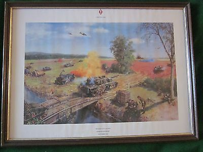 Terence Cuneo Military Art Print 1st British Corps Deterrence in Action