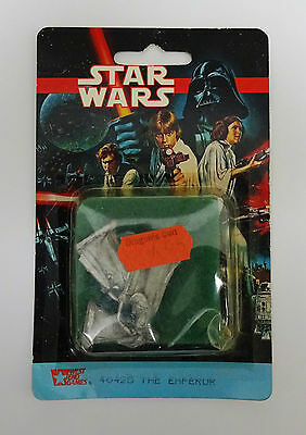 STAR WARS West End Games 25mm Figures 40425 The Emperor & Imperial Guards MOC