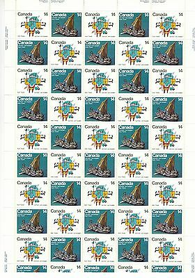 Canada Stamp #769-770 Inscription Sheet 50 stamps MNH Inuit Travel