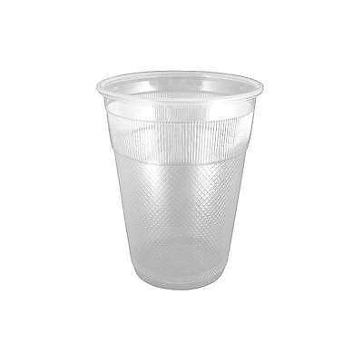RDI 9 oz. Disposable Wrapped Cold Cup,  Plastic,  Clear,  PK 1000 CP-PL-9-03