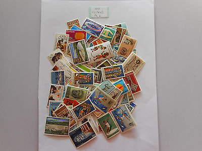100 MINT postage stamps from CYPRUS turkish pk 2 no doubles