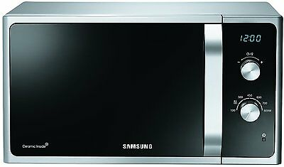 Samsung MS23F301EAS Standard 23L 800W Solo Microwave - Black and Grey