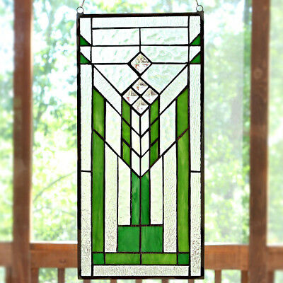 River of Goods Stained Glass Mission Window Panel