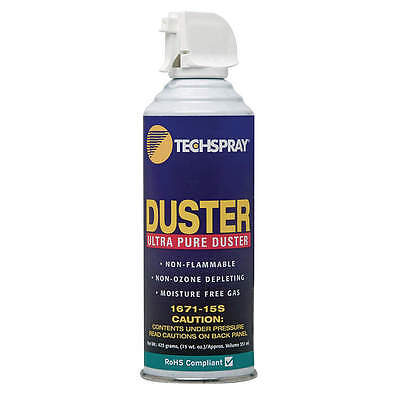 Techspray Aerosol Duster,  15 Oz. 1671-15S