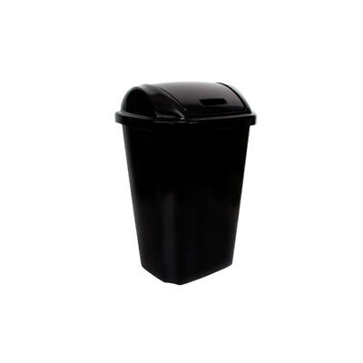 Hefty Plastic 13.5 Gallon Swing Top Trash Can Set of 4
