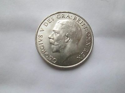 Unc Scarce 1921 Shilling Nose To S