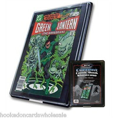 10 BCW Brand Current Comic Book Showcase Storage Protect & Display