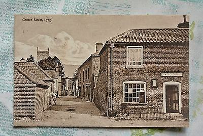Postcard of Church Street, Lyng, Norfolk