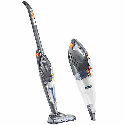 VonHaus Folding Vacuum Cleaner 2 in 1 Cordless Stick 22.2V Battery + Accessories