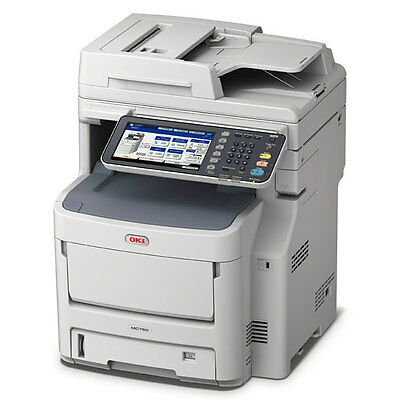 OKI MC760DN A4 Multi-Functional Colour LED Printer ,Includes 3 Year Warranty New