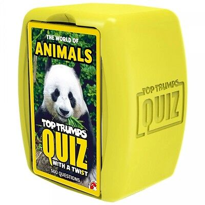 The World Of Animals 'Top Trumps Quiz' Card Game Brand New Gift