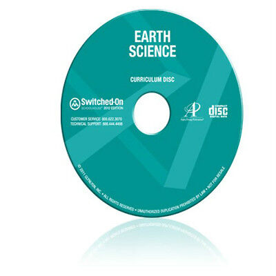 SOS Earth Science Homeschool Curriculum CD Switched On Schoolhouse Grades 9-12
