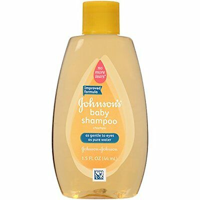 Johnson's Baby Shampoo no more tears Travel Size 1.5 Ounce Each