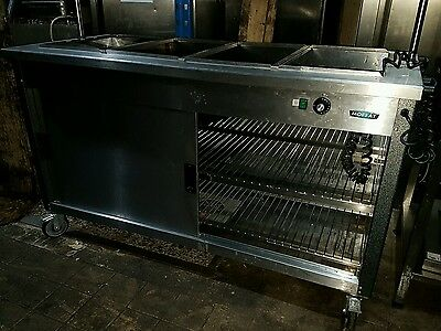 Moffat Electric Mobile Carvery Unit Bain Marie