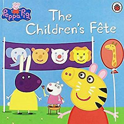 Peppa Pig The Children's Fete, Book, New