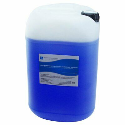 Ultrasonic Cleaning Fluid Flux Remover 25L Concentrate PCB Cleaner Solution