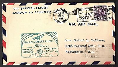 Ffc Special Flight London To Toronto: Canadian National Exhibition  (K993)