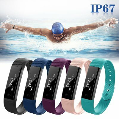 OLED Bluetooth Smart Watch Health Bracelet Sports Fitness Activity Sleep Tracker